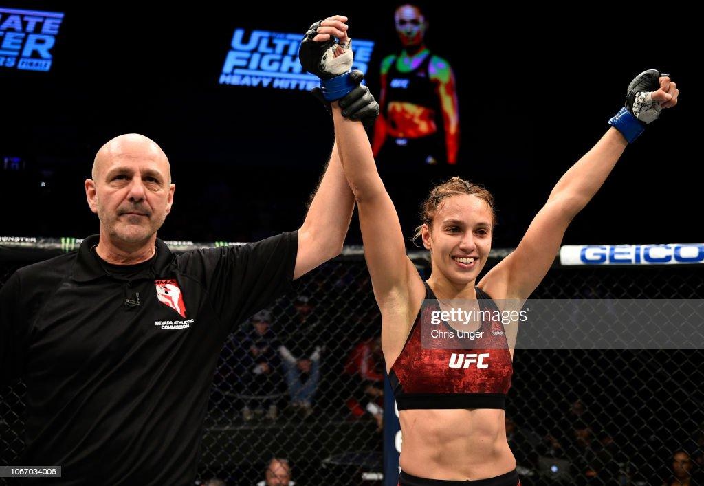 The Ultimate Fighter Finale: Kim v Shevchenko : Nieuwsfoto's