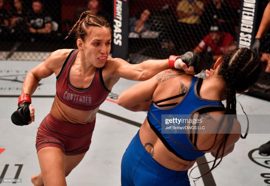 Dana White's Tuesday Night Contender Series: Shevchenko v Nievera : Nieuwsfoto's