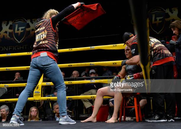 Antonina Shevchenko's sister UFC MMA Fighter Valentina Shevchenko cools her down between rounds Antonina Shevchenko takes on Claire Baxter in a...