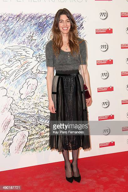 Antonine Peduzzi attends the official opening party of the Ilya And Emilia Kabakov Artwork Monumenta 2014 at the Grand Palais on May 13 2014 in Paris...