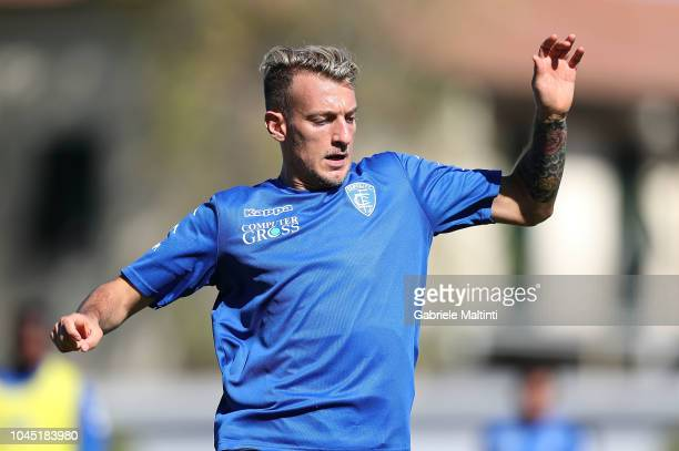 Antonino La Gumina of Empoli FC during training session on October 3 2018 in Empoli Italy