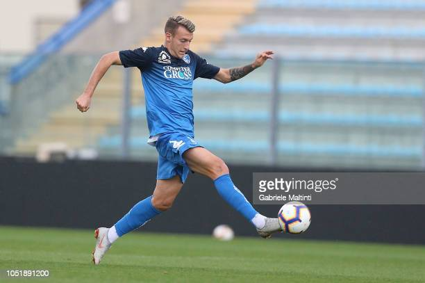 Antonino La Gumina of Empoli FC in action during friendly match between Empoli FC and Empoli FC U19 on October 11 2018 in Empoli Italy