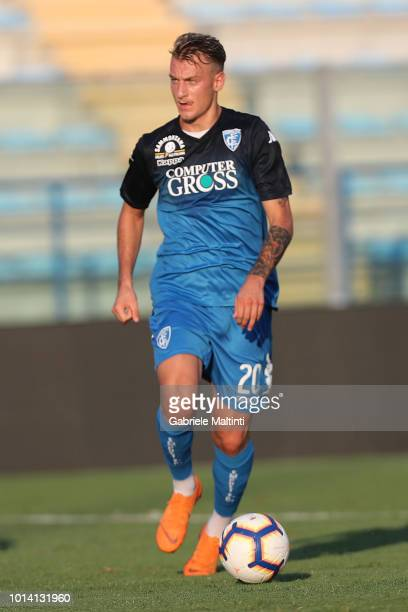 Antonino La Gumina of Empoli Fc in action during preseason Friendly match between Empoli FC ans Empoli U19 on August 9 2018 in Empoli Italy