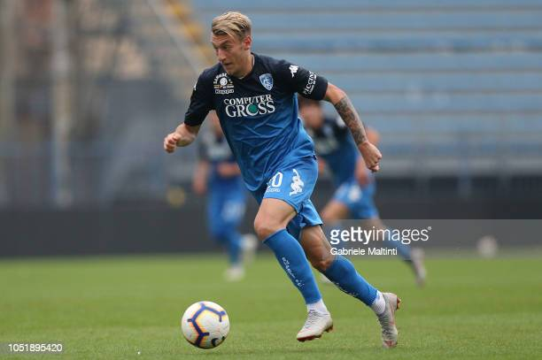 Antonino La Gumina of Empoli FC in action during the friendly match between Empoli FC and Empoli FC U19 on October 11 2018 in Empoli Italy