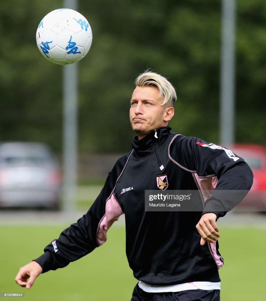 Antonino Lagumina of Palermo during pre-season training campo on July 16, 2017 in Bad Kleinkirchheim, Austria.