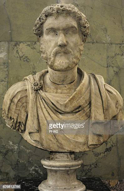 Antoninus Pius known as Antoninus Roman emperor form 138161 NervaAntonine dynasty Bust Marble The Third quarter of 2nd century AD The State Hermitage...