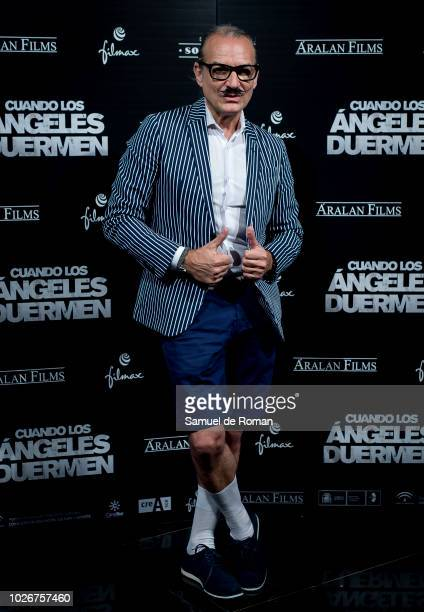Antonio Abella attends 'Cuando Los Angeles Duermen' Madrid Premiere on September 4 2018 in Madrid Spain