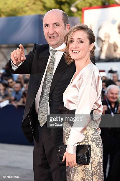 Antonio Albanese and guest attend the closing ceremony and premiere of 'Lao Pao Er' during the 72nd Venice Film Festival on September 12, 2015 in...