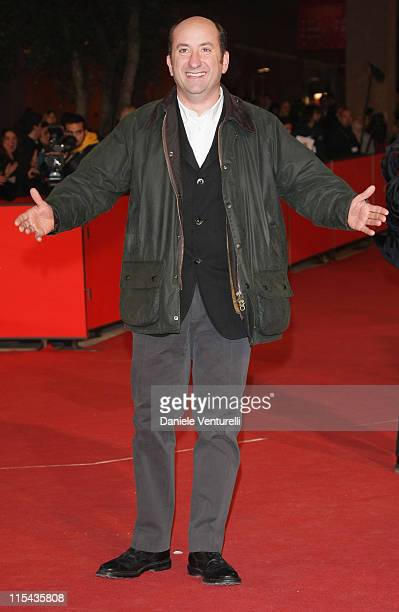 Antonio Albanese attends the 'Giorni E Nuvole' premiere during Day 5 of the 2nd Rome Film Festival on October 22, 2007 in Rome, Italy.