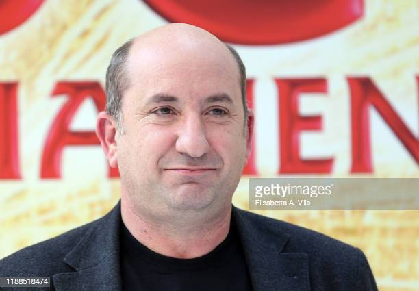 "Antonio Albanese attends the photocall of the movie ""Cetto C'è, Senzadubbiamente"" on November 18, 2019 in Rome, Italy."