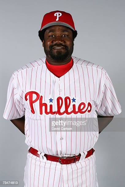 Antonio Alfonseca of the Philadelphia Phillies poses during photo day at Bright House Networks Field on February 24 2007 in Clearwater Florida