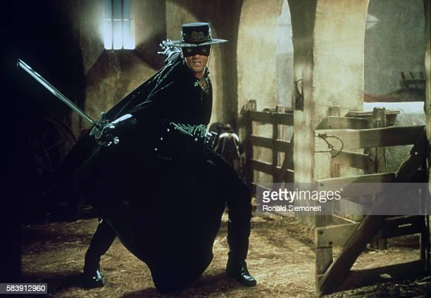 Antonio Banderas alias Zorro in action