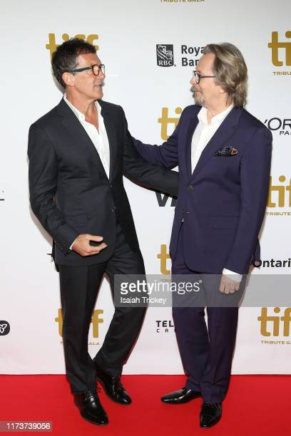 Antonio Banderas and Gary Oldman attend the 2019 Toronto International Film Festival TIFF Tribute Gala at The Fairmont Royal York Hotel on September...