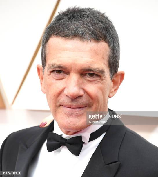 Antonio Banderas arrives at the 92nd Annual Academy Awards at Hollywood and Highland on February 09, 2020 in Hollywood, California.