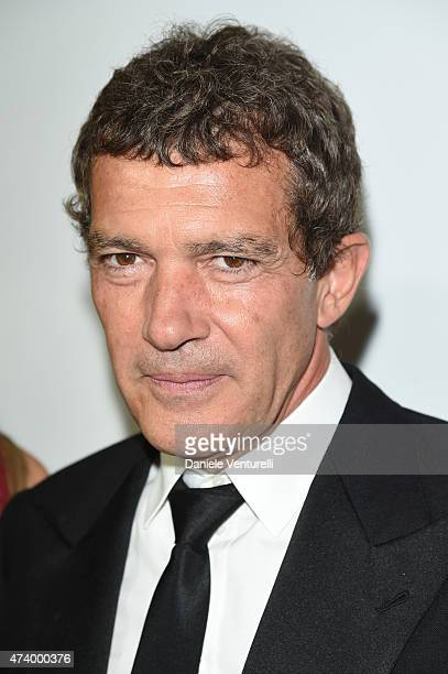 Antonio Banderas attend the De Grisogono party during the 68th annual Cannes Film Festival on May 19 2015 in Cap d'Antibes France