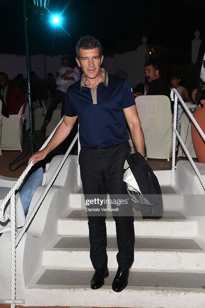 Antonio Banderas attends 2015 Ischia Global Film & Music Fest Day 1 on July 13, 2015 in Ischia, Italy.