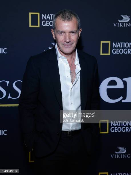 Antonio Banderas attends 'Genius Picasso' after party during the 2018 Tribeca Film Festival on April 20 2018 in New York City