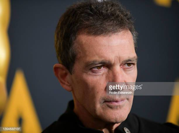 Antonio Banderas attends Oscars Week International Feature Film at the Samuel Goldwyn Theater on February 06 2020 in Beverly Hills California