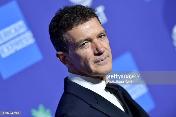 Antonio Banderas attends the 2020 Annual Palm Springs International Film Festival Film Awards Gala on January 02 2020 in Palm Springs California