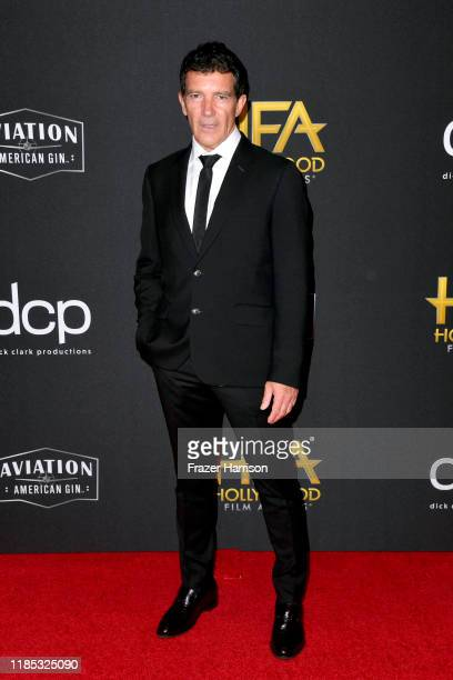 Antonio Banderas attends the 23rd Annual Hollywood Film Awards at The Beverly Hilton Hotel on November 03 2019 in Beverly Hills California