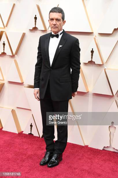 Antonio Banderas attends the 92nd Annual Academy Awards at Hollywood and Highland on February 09, 2020 in Hollywood, California.