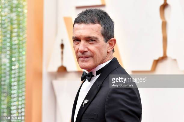 Antonio Banderas attends the 92nd Annual Academy Awards at Hollywood and Highland on February 09 2020 in Hollywood California