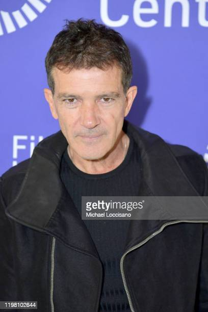 Antonio Banderas attends the Film at Lincoln Center 2020 Annual Luncheon at Lincoln Ristorante on January 07 2020 in New York City