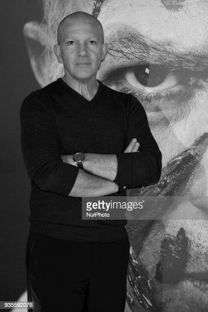 Antonio Banderas attends the 'Genius Picasso' serie photocall at Westin Palace hotel in Madrid on March 21 2018