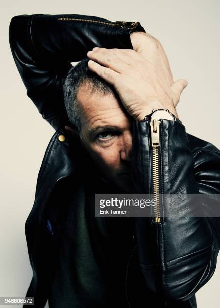 Antonio Banderas of the series Genius Picasso poses for a portrait during the 2018 Tribeca Film Festival at Spring Studio on April 19 2018 in New...