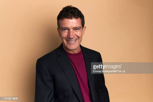 Antonio Banderas poses for a portrait at the 2020 BAFTA Tea Party on January 04, 2020 in Beverly Hills, California.