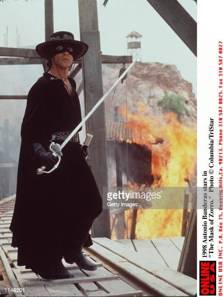 Antonio Banderas stars in The Mask of Zorro