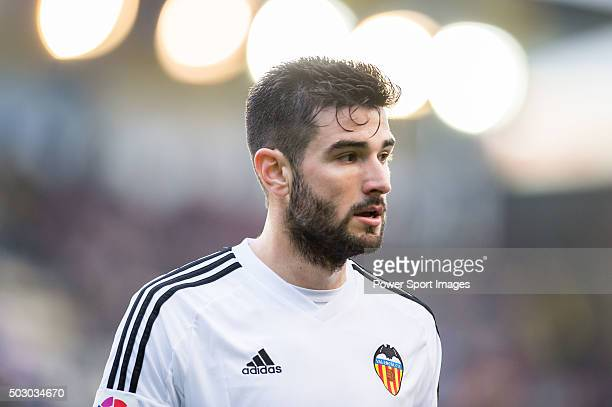 Antonio Barragan looks on during the Villarreal CF vs Valencia CF as part of the Liga BBVA 20152016 at El Madrigal on December 31 2015 in Villarreal...