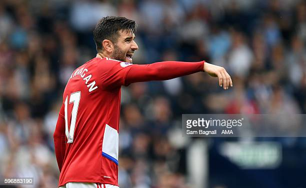 Antonio Barragan of Middlesbrough during the Premier League match between West Bromwich Albion and Middlesbrough at The Hawthorns on August 28 2016...