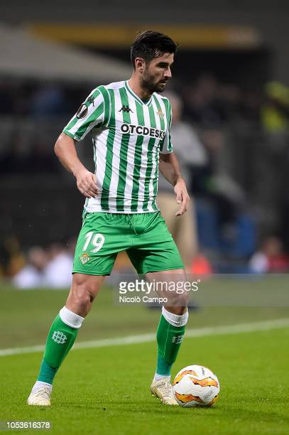 Antonio Barragan of Real Betis Balompie in action during the UEFA Europa League football match between AC Milan and Real Betis Balompie Real Betis...