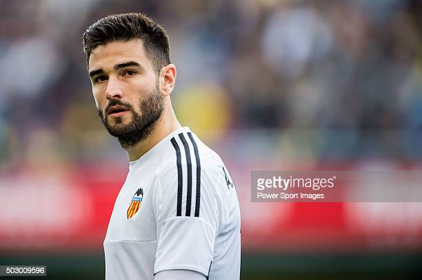 Antonio Barragan of Valencia CF looks on during the Villarreal CF vs Valencia CF as part of the Liga BBVA 20152016 at El Madrigal on December 31 2015...