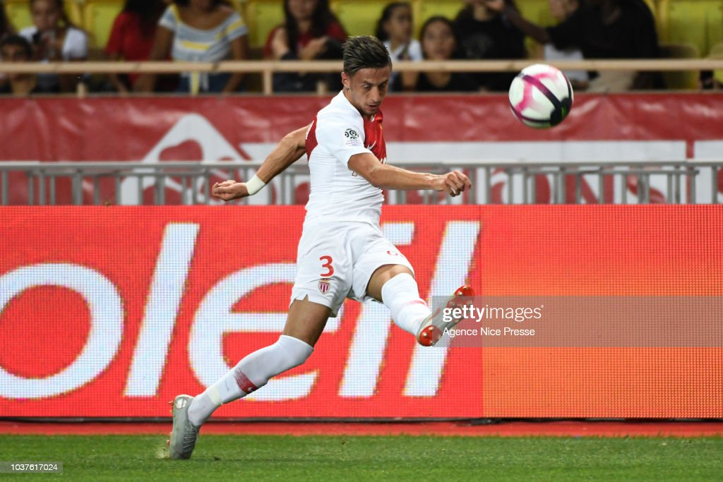 Antonio Barreca of Monaco during the Ligue 1 match between AS ...