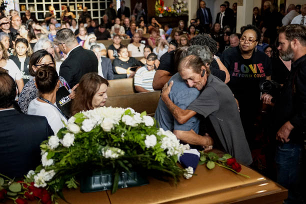 TX: Hundreds Join El Paso Man At Funeral For Wife Who Was Killed In Mass Shooting