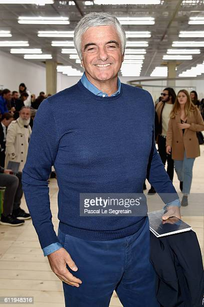 Antonio Belloni attends the Celine show as part of the Paris Fashion Week Womenswear Spring/Summer 2017 on October 2 2016 in Paris France