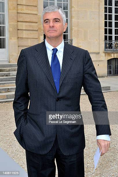 Antonio Belloni attends the Christian Dior ReadyToWear Fall/Winter 2012 show as part of Paris Fashion Week at Musee Rodin on March 2 2012 in Paris...