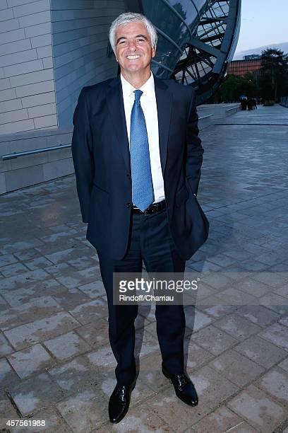 Antonio Belloni attends the Foundation Louis Vuitton Opening at Foundation Louis Vuitton on October 20 2014 in BoulogneBillancourt France