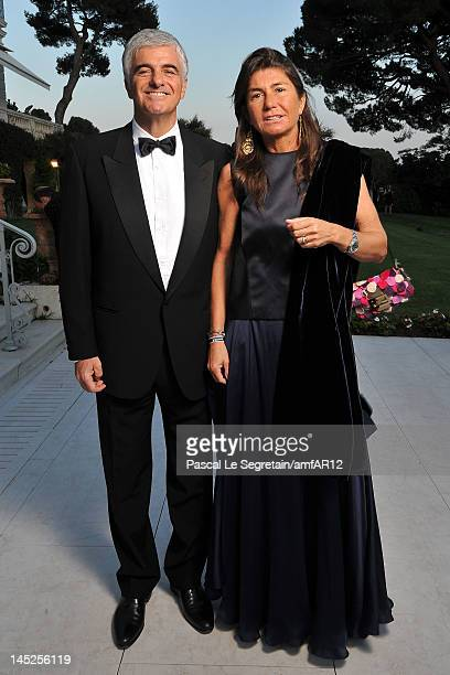 Antonio Belloni Group Managing Director and Director LVMH and guest attend the 2012 amfAR's Cinema Against AIDS during the 65th Annual Cannes Film...
