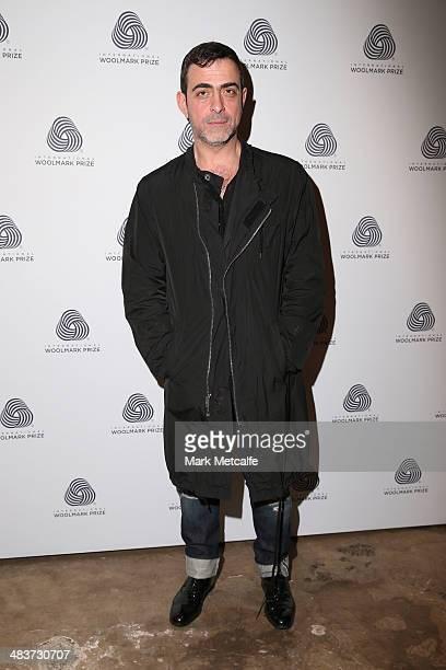 Antonio Berardi at the International Woolmark Prize during MercedesBenz Fashion Week Australia 2014 at Carriageworks on April 10 2014 in Sydney...