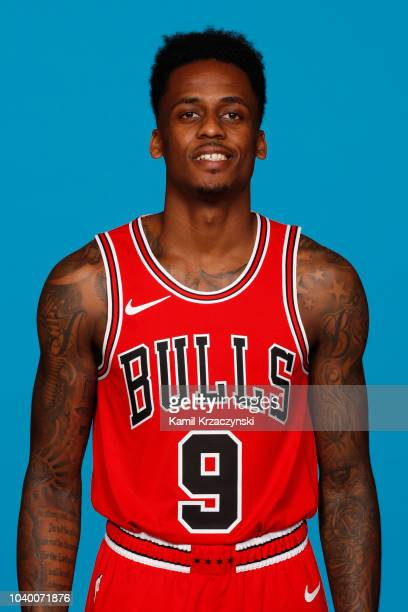 Antonio Blakeney of the Chicago Bulls poses for a portrait during media day at the United Center in Chicago Illinois on September 24 2018 NOTE TO...