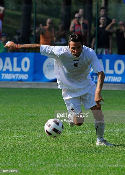 Antonio Busce' of Bologna in action during pre season friendly match betwen Bologna and Molveno on July 15 2010 in Andalo Valtellino Italy