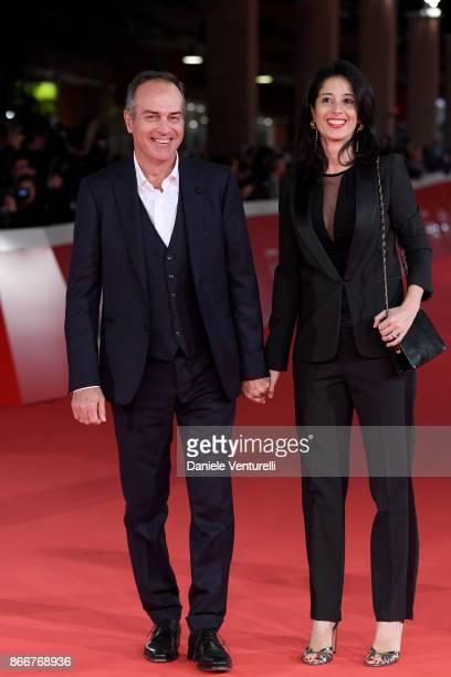Antonio Cabrini and Carla Cabrini walk a red carpet for Hostiles during the 12th Rome Film Fest at Auditorium Parco Della Musica on October 26 2017...
