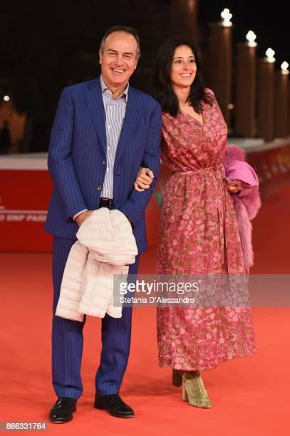 Antonio Cabrini and Carla Cabrini walk the red carpet for 'La Ragazza Nella Nebbia' during the 12th Rome Film Fest at Auditorium Parco Della Musica...