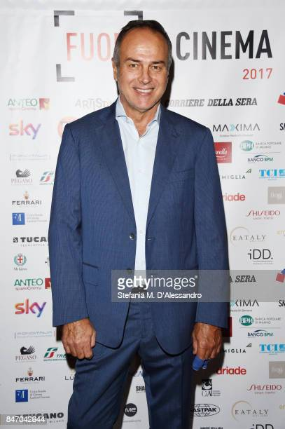 Antonio Cabrini attends the Gala Dinner of FuoriCinema on September 14 2017 in Milan Italy
