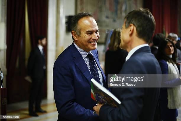 Antonio Cabrini attends the Italian Football Federation Annual Report at Palazzo Montecitorio on May 24 2016 in Rome Italy
