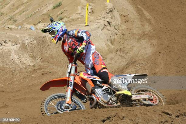 Antonio Cairoli of Red Bull KTM Factory Racing team during the Fiat Professional MXGP of Lombardia race at Ottobiano Motorsport circuit on June 17...
