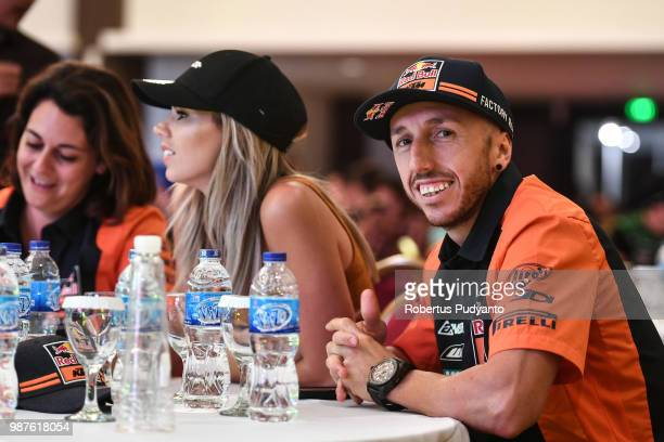 PANGKALPINANG BANGKA INDONESIA JUNE 30 Antonio Cairoli of Red Bull KTM Factory Racing Team is seen during Meet and Greet on day one of the FIM...